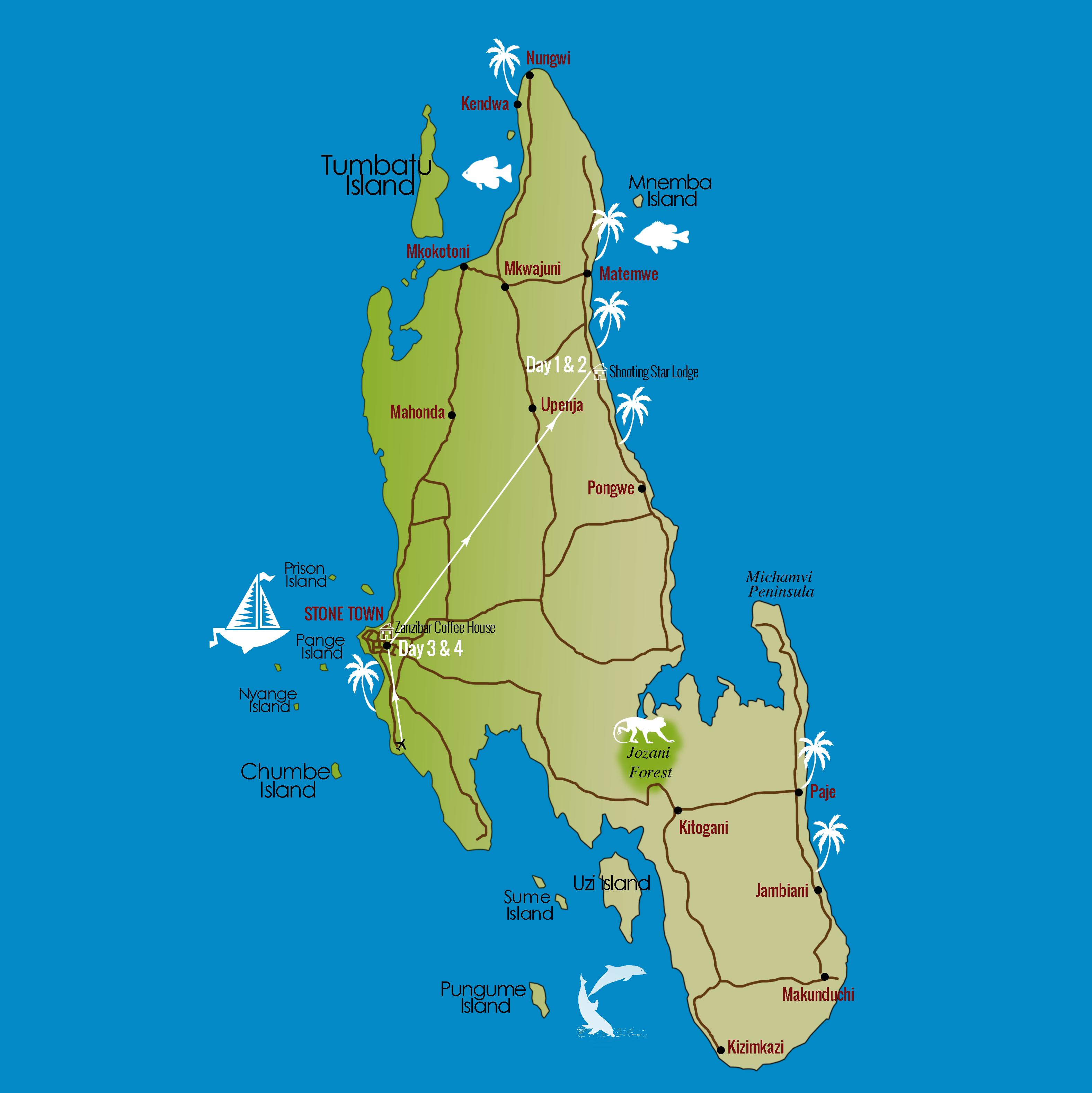 stone town carte