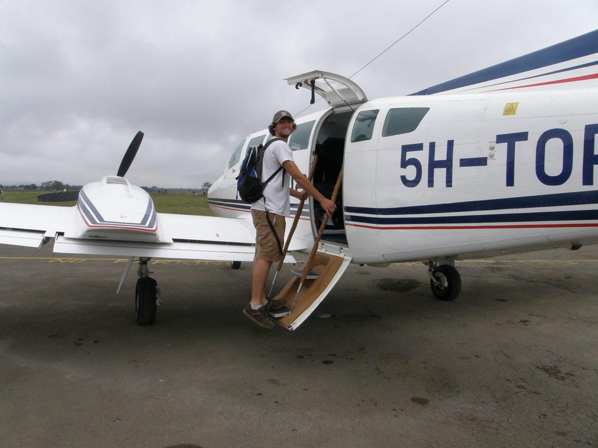 Safari Charter plane